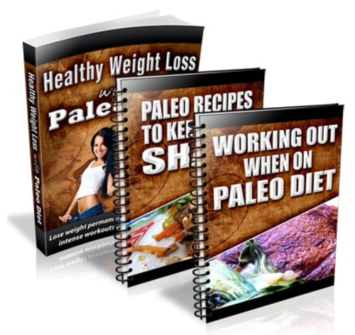 Product picture Paleo Diet for Healthy Weight Loss + Recipes & Work Out Plan